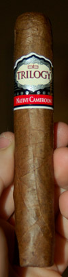 Alec Bradley Trilogy Native Cameroon cigar