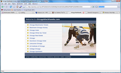 Chicago Blackhawks site